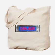 On-Air Broadcasting Sign Tote Bag