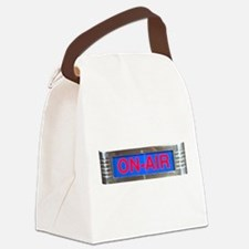On-Air Broadcasting Sign Canvas Lunch Bag