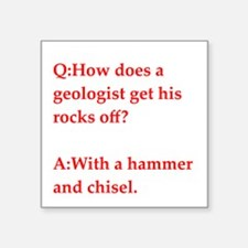 GEOLOGY17 Sticker