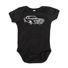 Funny 69 chevy camaro Baby Bodysuit