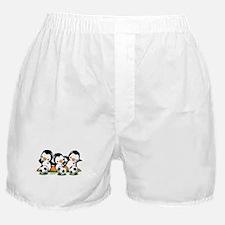 Soccer Penguins Boxer Shorts