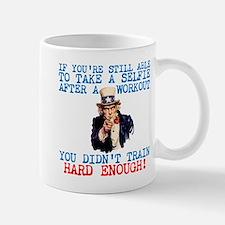 SELFIE AFTER A WORKOUT Mugs