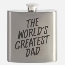 The Worlds Greatest Dad Flask