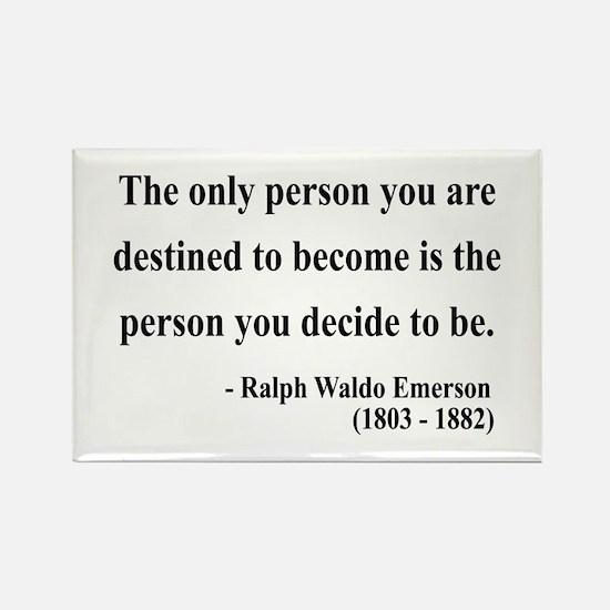 Ralph Waldo Emerson 2 Rectangle Magnet