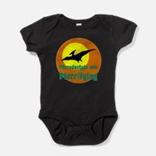 Pterodactyls are Pterrifying Baby Bodysuit