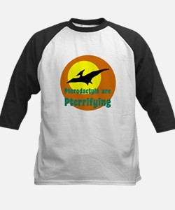 Pterodactyls are Pterrifying Baseball Jersey