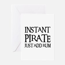 JUST ADD RUM Greeting Cards (Pk of 10)