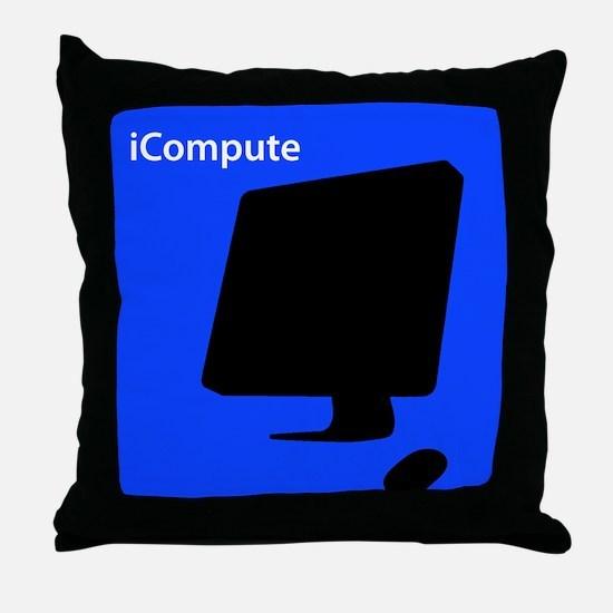 iCompute Throw Pillow