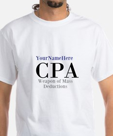 Personalized Cpa Wmd Shirt