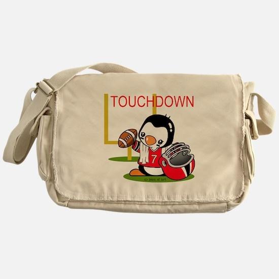 Touchdown Football (2) Messenger Bag