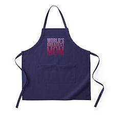 Worlds Best Mom Apron (dark)