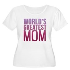 Worlds Best Mom Plus Size T-Shirt