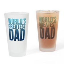 Worlds Best Dad Drinking Glass