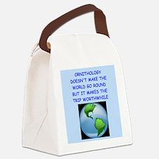 ORNITHOLOGY Canvas Lunch Bag