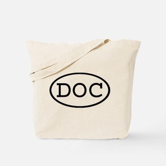 DOC Oval Tote Bag