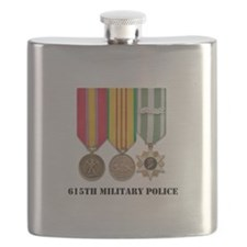 615th Military Police Flask