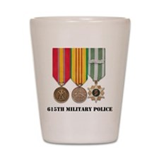 615th Military Police Shot Glass