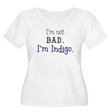 misc-indigo01 Plus Size T-Shirt