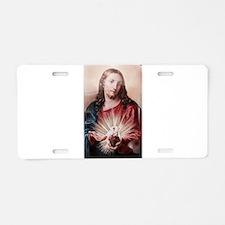 Jesus Aluminum License Plate