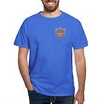 USA Flag Patriotic Shield Dark T-Shirt