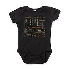 LOA Green Tee Baby Bodysuit