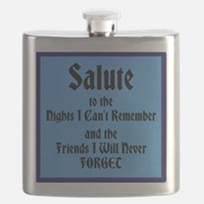 Salute To The Nights I Can't Remember Flask