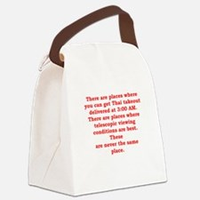 ASTRONOMY3 Canvas Lunch Bag
