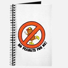 No Peanuts For Me! Journal