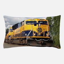 Alaska Railroad engine locomotive Pillow Case