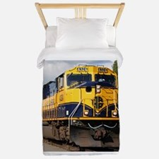 Alaska Railroad engine locomotive Twin Duvet