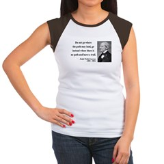 Ralph Waldo Emerson 3 Women's Cap Sleeve T-Shirt