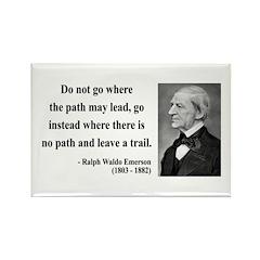 Ralph Waldo Emerson 3 Rectangle Magnet (100 pack)