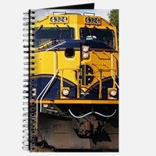 Alaska Railroad engine locomotive Journal