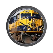 Alaska Railroad engine locomotive Wall Clock