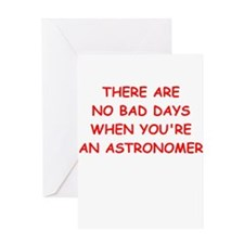 ASTRONOMER Greeting Cards