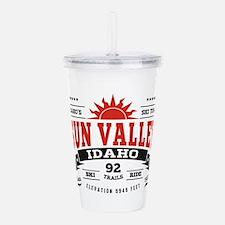 Sun Valley Vintage Acrylic Double-wall Tumbler