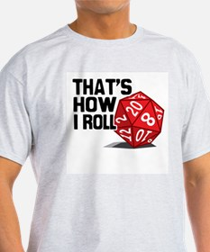 Cool 20 sided dice T-Shirt