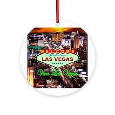 Viva Las Vegas Ornament (Round)