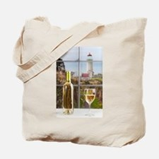 Wine at North Head Tote Bag