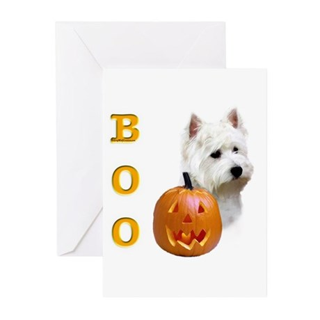 Westie Boo Greeting Cards (Pk of 10)