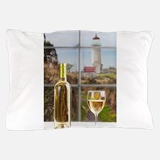 Wine at North Head Pillow Case