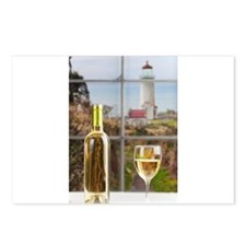 Wine at North Head Postcards (Package of 8)