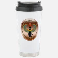 Egyptian Cat Rescue Org Stainless Steel Travel Mug