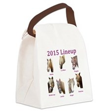 Barn line up 2015 Canvas Lunch Bag
