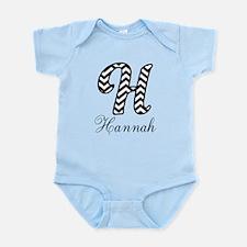 Monogram H Your Name Custom Body Suit