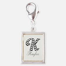 Monogram K Your Name Custom Charms