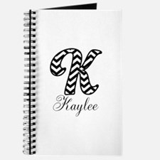 Monogram K Your Name Custom Journal