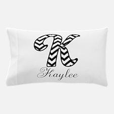 Monogram K Your Name Custom Pillow Case