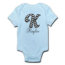 Monogram K Your Name Custom Body Suit