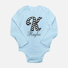 Monogram K Your Name Custom Body Suit